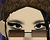 brown glasses, derivable