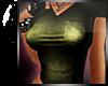 <3 Proper Green V-Neck