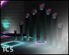 Neon floor lamps