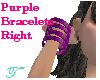 Purple Braclets (right)