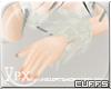 .xpx. Silver Wolf Cuffs