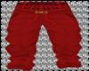FENDI RED PANTS