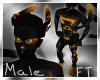 (M) Blk&Gold Fur [FT]