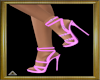 (AL)Buckle Heels Pink 2