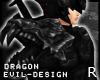 #Evil Black Drag Spaul R