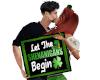 St. Patrick's Day Kiss