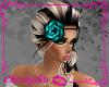 !Cs Rose Head Band Cyan