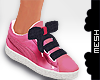 ! Bow Tied Sneakers