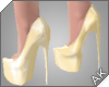~AK~ Fall Heels: Cream