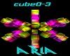 Rainbow Cube light