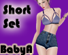 ~BA Summer Short Set Blu