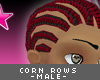 [V4NY] CornRows Bk/red