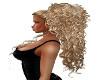 mix blond curly pony