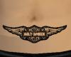 Belly HD Emblem Tattoo