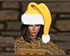 Yellow Santa Hat (F)