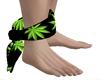 Feet Marijuana Bandana