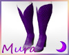 Cowgirl Boots Wide Purp
