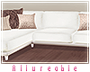 A* White Modern Couch