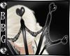 BBG* Dark hearts collar