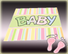 Twins Nursery Baby Rug