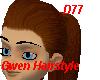 D77 Gwen Hair-Rojizo