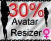 *M* Avatar Scaler 30%