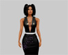 Shiney Black Dress