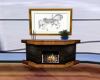 Carousel Horse Fireplace