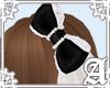 Dolly Cat Bow~ Black