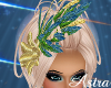 *AL* Peacock Feather Hat