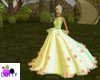 forest goddess gown