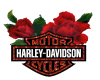 Harley and Rose Sticker