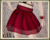 Cute red skirt
