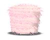 Pink Furry Stool