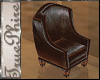 *TP Winged Leather Chair