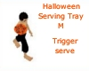 Halloween Serving Tray M