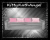 Grey & Pink Nursery Sofa