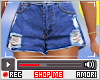 Ѧ; Nikk Denim Shorts