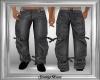Grey Buckle Pants DER