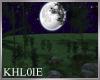 K moon light forest