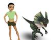 Little dinosaur Pet