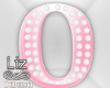 Baby Shower letter O