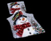 Snowman Snuggle Blanket