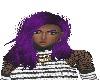Sonya Purple Hair