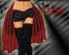 Red Burlesque Skirt