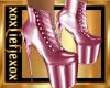 [L] Metalic PINK Boots F