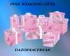 Pink Wedding Gifts