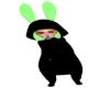 Neon Bunny Onsie