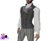 Victorian Grey tweed