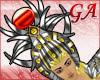 GA Hathor Crown Red Orb